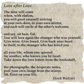 Love after Love - Derek Walcott