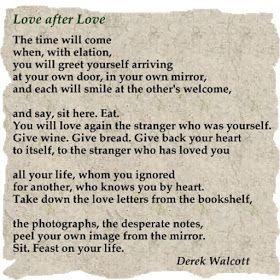 Love after Love - Derek Walcott