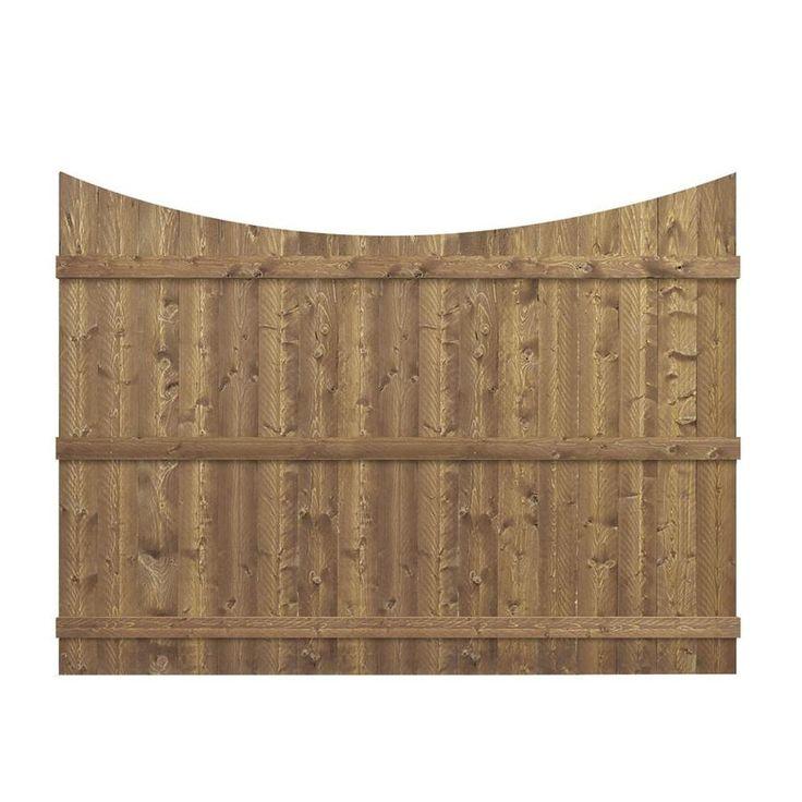 Barrette (Common: 6-ft x 8-ft; Actual: 5.91-ft x 8-ft) Cedar Wood (Not Metal) Spruce Pine Fir