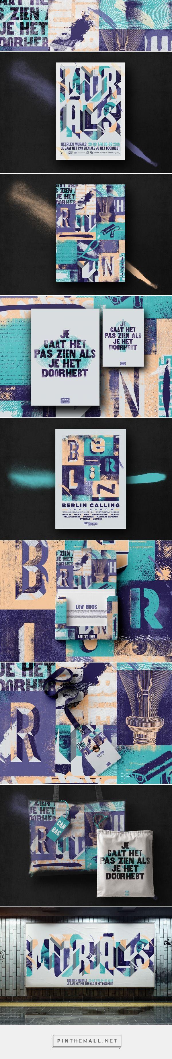 Heerlen Mural Street Art Festival Branding by Fabian De Lange   Fivestar Branding – Design and Branding Agency & Inspiration Gallery   #DesignInspiration