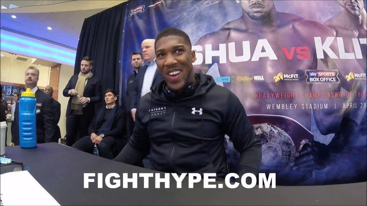 ANTHONY JOSHUA REACTS TO FIGHT WITH KLITSCHKO SETTING 90,000 WEMBLEY RECORD; THANKS FANS - http://www.truesportsfan.com/anthony-joshua-reacts-to-fight-with-klitschko-setting-90000-wembley-record-thanks-fans/