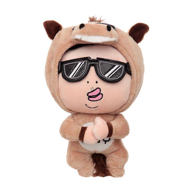Auroraworld K-POP Star PSY Character Horse Costume Doll 6inch Gangnam Style #Dolls