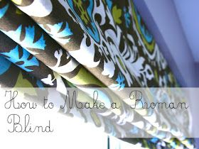 Roman blinds, make them yourself and save hundreds.