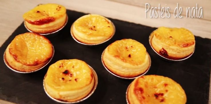 Savourez un petit flan pâtissier, typique du Portugal !