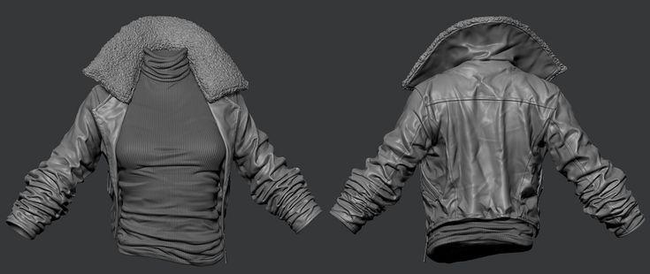 mrBanana's coat sculpt with how-to video