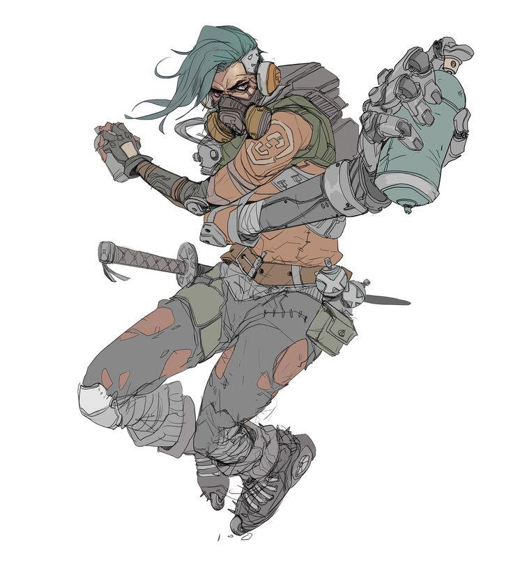 Characters , Hicham Habchi on ArtStation at https://www.artstation.com/artwork/6RWnN