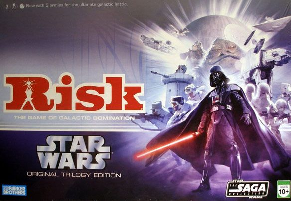 Risk: Star Wars Original Trilogy Edition- Id so play this!