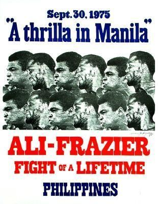 Ali-Frazier III better known as the Thrilla in Manila. One of the greatest fights ever. Both Ali and Frazier were near death in this fight. They gave their all.