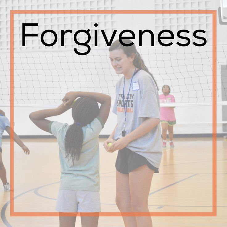Definition of FORGIVE:cancel (a debt); stop feeling angry or resentful toward (someone) for an offense, flaw, or mistake  Forgiveness is tough. In life. In sports. Basically all the time.But imagine if our athletes could learn how important forgiveness of others and themselves is. We would have such a transparent, gracious team!   What does forgiveness mean to you?