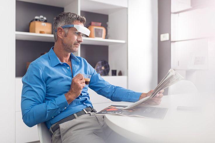 Luminette 2 - Okulary do światłoterapii, fototerapii