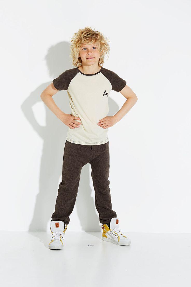 albaKid T-shirt raglan mouw
