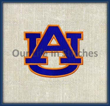 5 Sizes Auburn University Logo Machine By