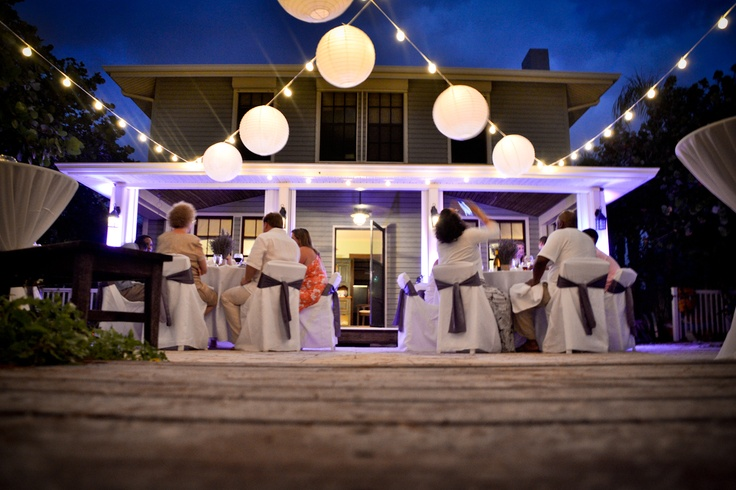 Florida Beach House Wedding Reception At The Coquina Haven By Floridabeachhouseweddings