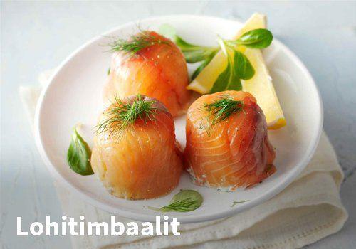 Lohitimbaalit, Resepti: Valio #kauppahalli24 #pääsiäinen #ruoka #resepti #lohi