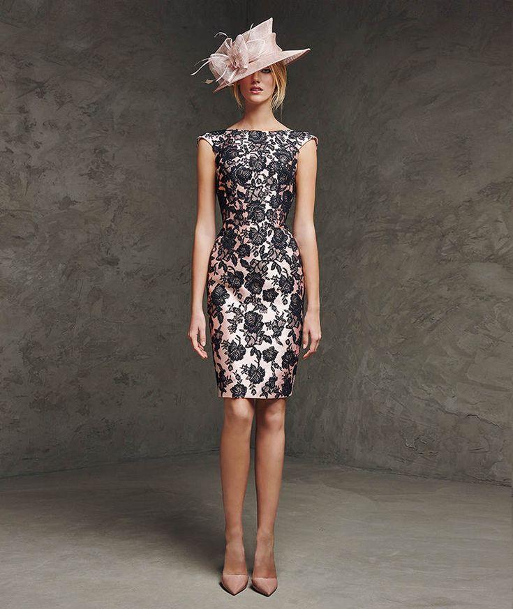 Vestidos para madrinas 2016 #vestidos #madrina #bautizo #evento #dia #fiesta #vestido #corto #ideas #tips