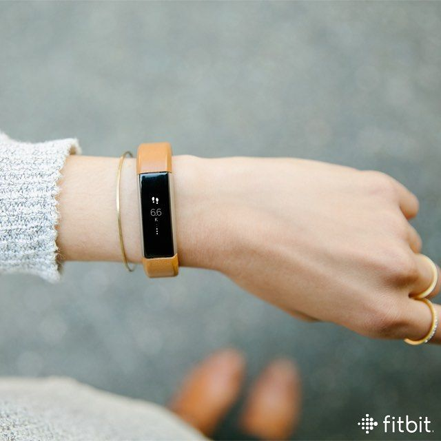 Fitbit Alta Band - Camel Leather