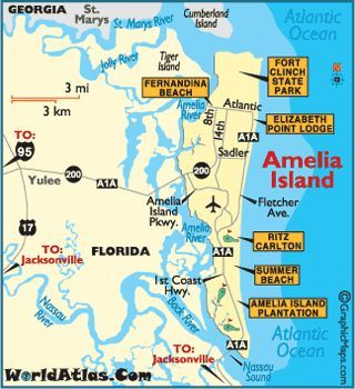 Map of Amelia Island. Amelia Island Map Featuring Golf. Fish. Sun ...   Amelia island map. Amelia island florida. Amelia island