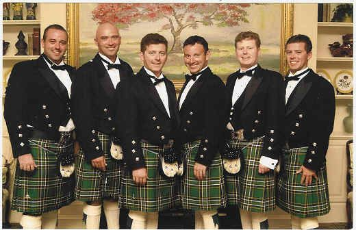 John's given the go-ahead for Irish national kilts for himself and groomsmen/father-of-groom.. etc. AW YEAH!!!