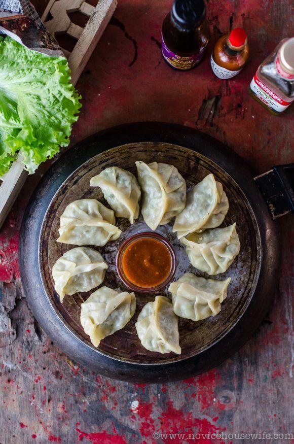 veg momos- Nepalese Food
