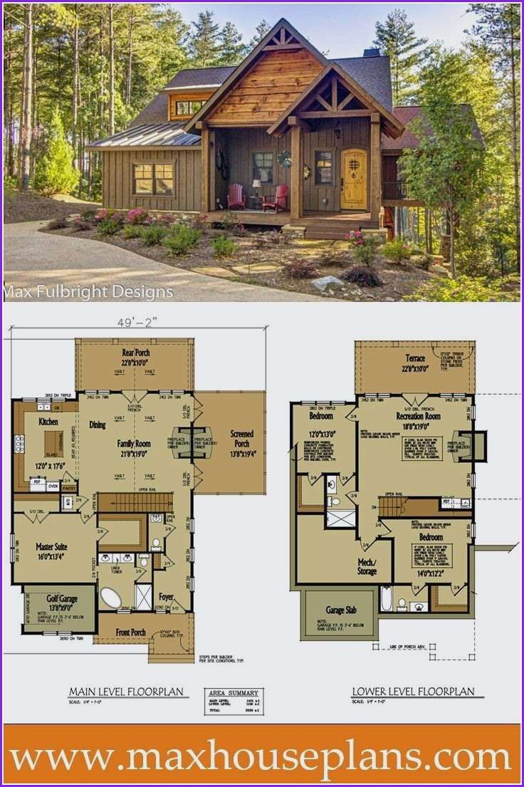 Awesome Small House Design In 2020 Unique Small House Plans Small Rustic House Free House Plans