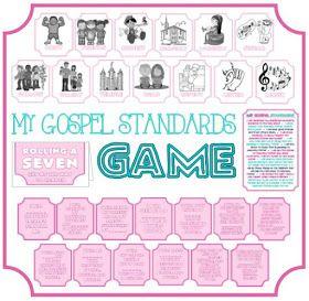 Activity Day Ideas: My Gospel Standards Game - Faith In God Award