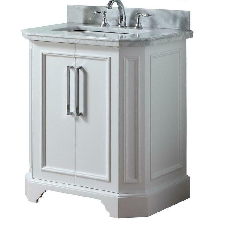 Find allen roth Delancy White Undermount Single Sink Birch Bathroom Vanity  with Natural Marble Top CommonBathroom Vanity Faucets Clearance   shoe800 com. Discount Bathroom Vanity Columbus Ohio. Home Design Ideas