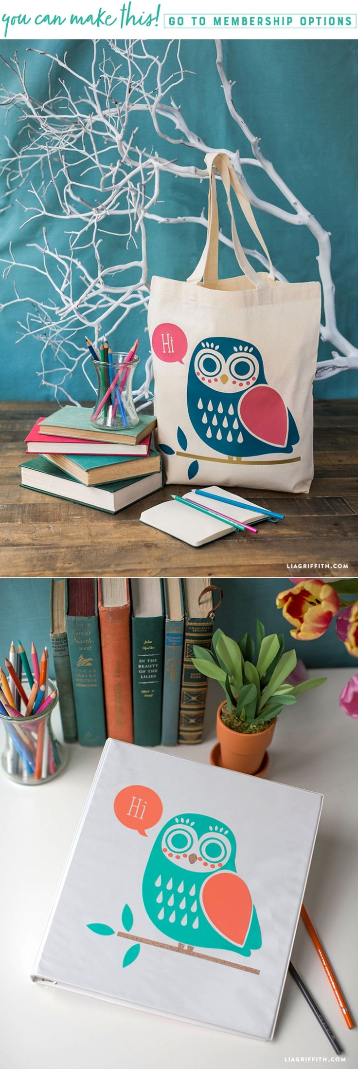 Bright Owls ✨ Add these bright owls to your favorite bag, binder t-shirt and more! We've created both iron-on and vinyl owl designs for you to liven up your favorite things. Get the PDF and SVG downloads here https://liagriffith.com/owl-design-iron-on-and-vinyl/ * * * #owl #owls #svg #ironon #vinyl #diy #diyidea #diyideas #diycraft #diycrafts #diyproject #diyprojects #diyinspiration #design #designs #custombag #cute #cutecrafts #madewithlia