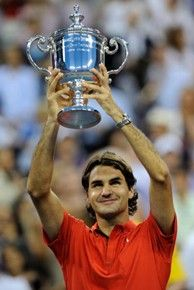 Roger Federer won his fifth consecutive US Open in 2008.