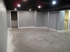 Exposed Basement Ceiling Ideas   Google Search