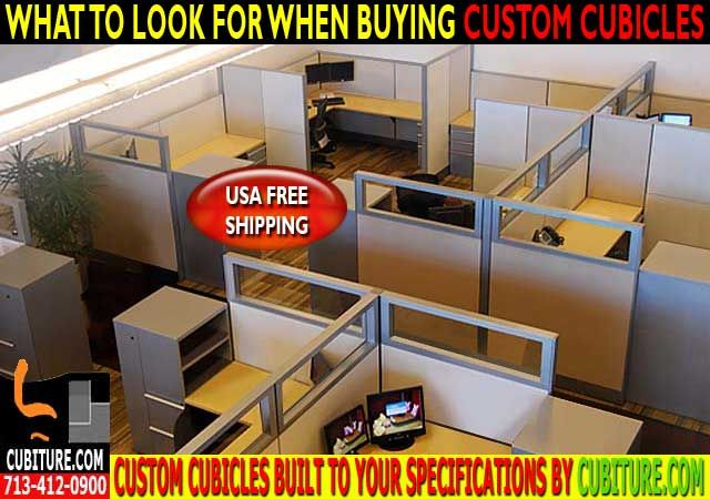 Custom Office Cubicles For Sale In Houston, Texas USA FREE SHIPPING
