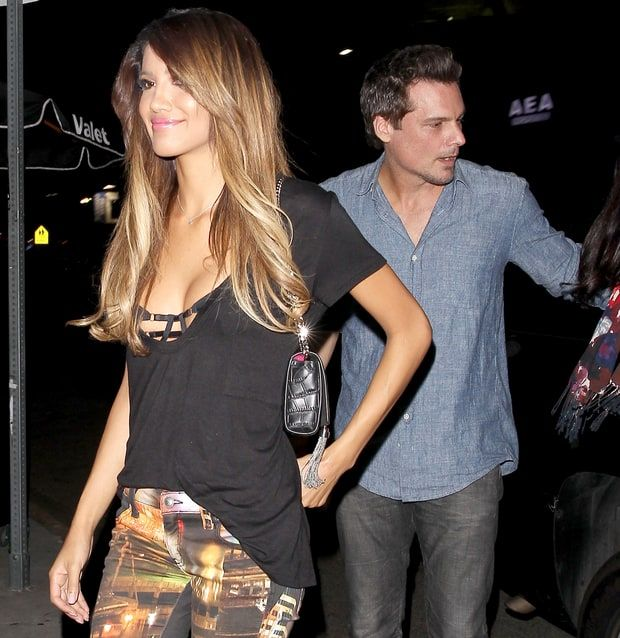 Len Wiseman and his rumored new girlfriend. After divorcing Kate