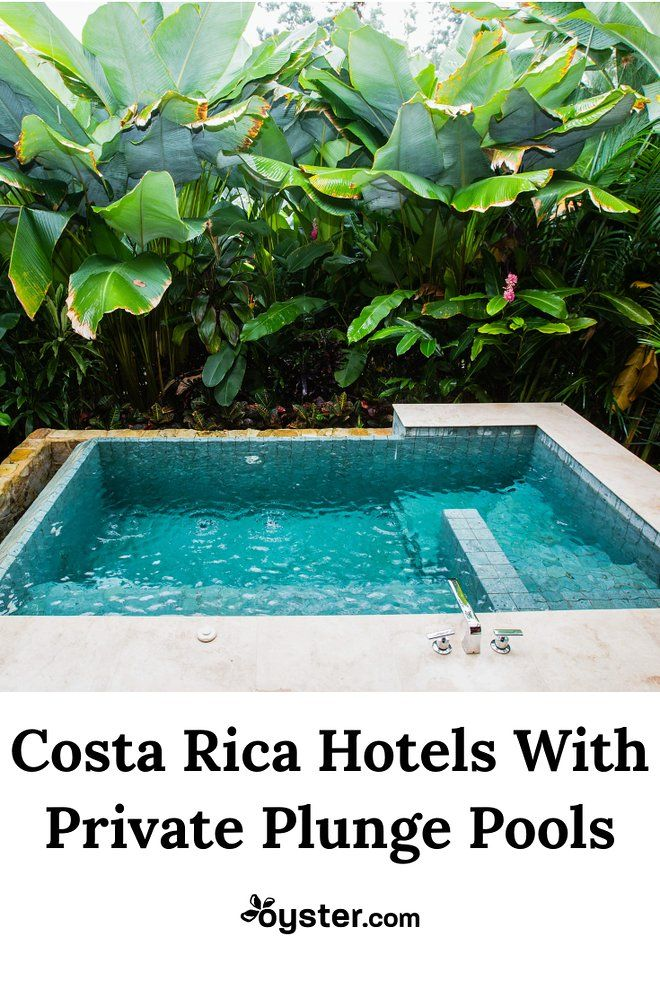 When each vacation day brings the possibility of an epic excursion, a private in-room pool sure makes a sweet hotel perk. Take a look at our favorite Costa Rica hotels with private plunge pools for post-adventure relaxation.