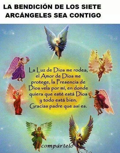 Oración para los Arcángeles.