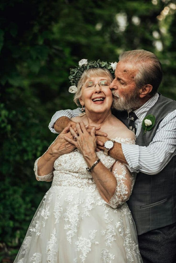 Прикольные картинки свадьбы стариков