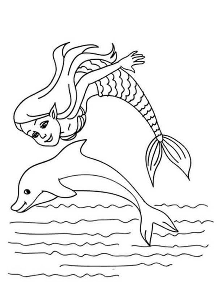 Barbie Dolphin Magic Coloring Pages Mermaid Coloring Pages Dolphin Coloring Pages Mermaid Coloring