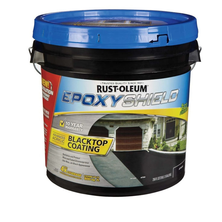 Rust Oleum 174 Epoxy Shield Blacktop Coating 247471