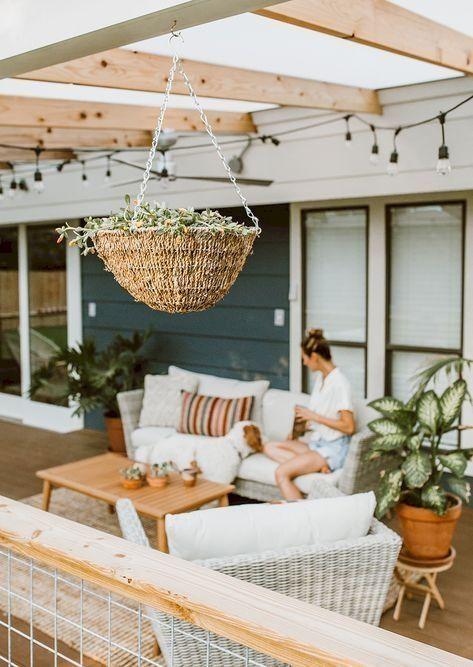 38 Süße Balkon-Design-Ideen für den Sommer