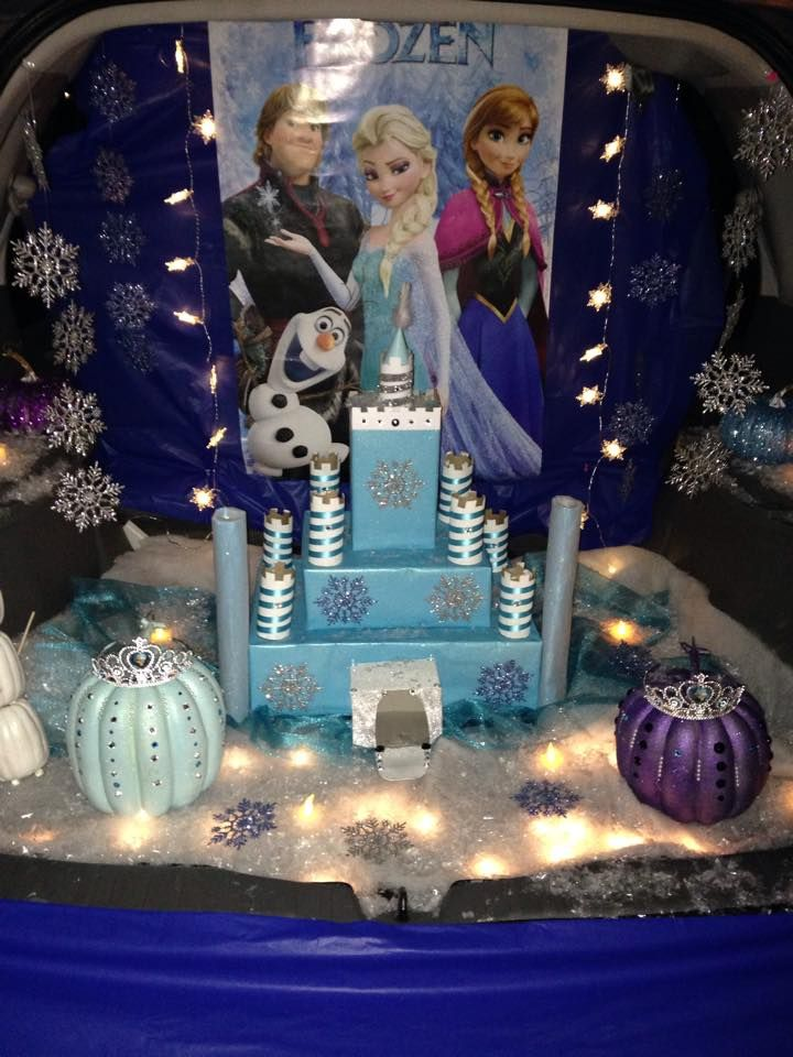 Frozen Trunk Or Treat!
