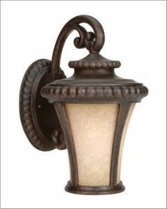 Craftmade Lighting Z1204-112 Prescott - One Light Wall Sconce, Peruvian Bronze Finish With Antique Scavo Glass by Craftmade. $70.00. Possessing a Certain Gothic Charm, the Prescott Line of Outdoor Lighting Has a Look That's Beautifully Memorable.  Peruvian Finish  Antique Scavo Glass  Quality Construction  Leading Edge Styling