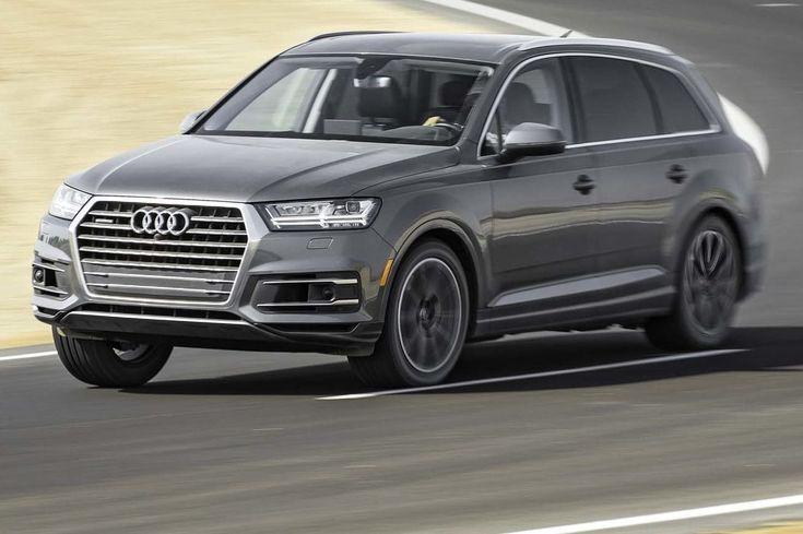 Audi Q7  Top 10 SUVs and 4X4s available today - MonthlyMale