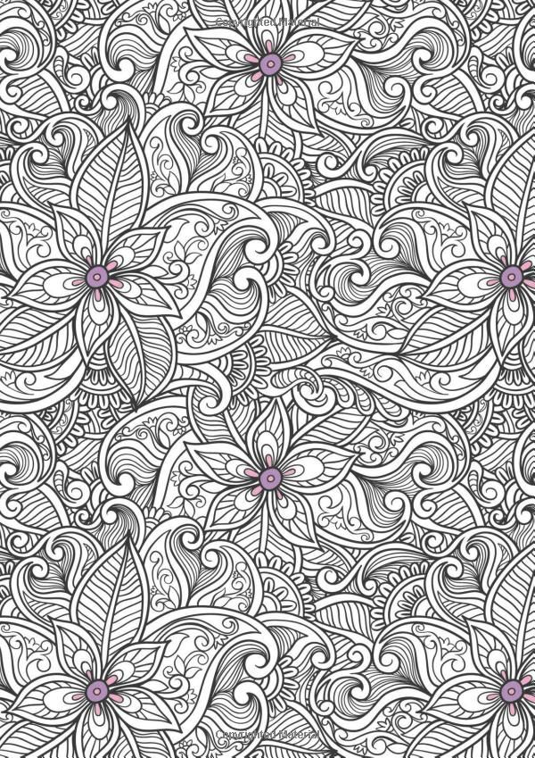 Ipad Coloring Book Le Pencil : 253 best coloring pages for adults images on pinterest