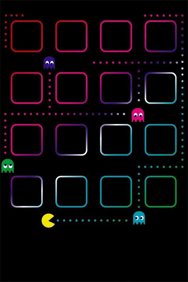pac man iphone wallpaper pac man pinterest iphone