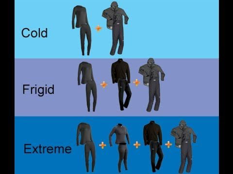Cold Weather Dressing Tips - Base Layer Insulating Layers - Extreme Arctic Clothing - YouTube