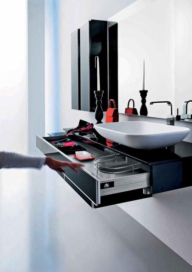Modern Black Bathroom Furniture – Onyx by Stemik Living | DigsDigs