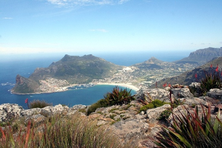 Hout Bay - short drive from Cape Town via the magnificent, winding Chapman's Peak Drive along the coast
