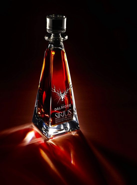 Dalmore's Sirius Single Malt is a 1951 vintage Scotch whisky