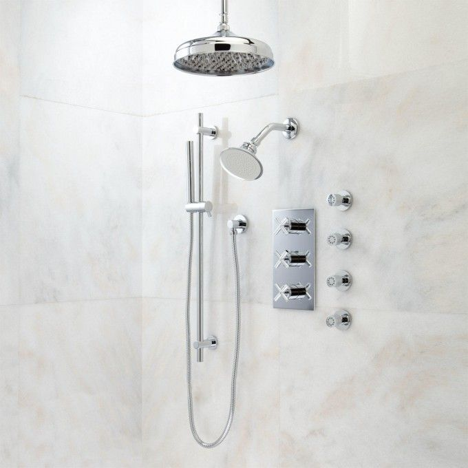 The 25+ best Dual shower heads ideas on Pinterest | Double shower ...