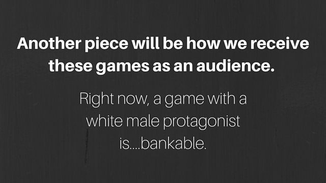 Game artist Lisa Lindsay Art on how we can improve representation in media.