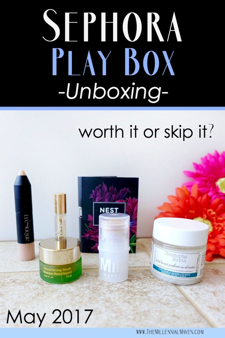 What's in My Sephora Play Box for May 2017