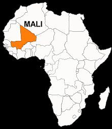 Map : Mali, overview